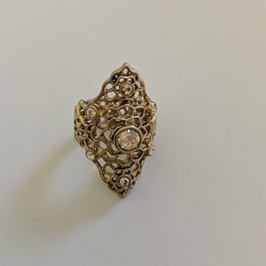 Gold Vintage Costume Jewelry Ring